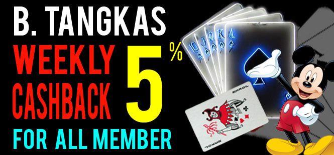 cashback Sportsbook & Tangkas