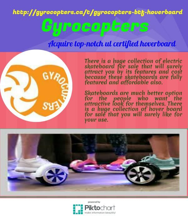 At gyrocopters, there is a huge collection of electric skateboard for sale that will surely attract you by its features and cost because these skateboards are fully featured and affordable also.