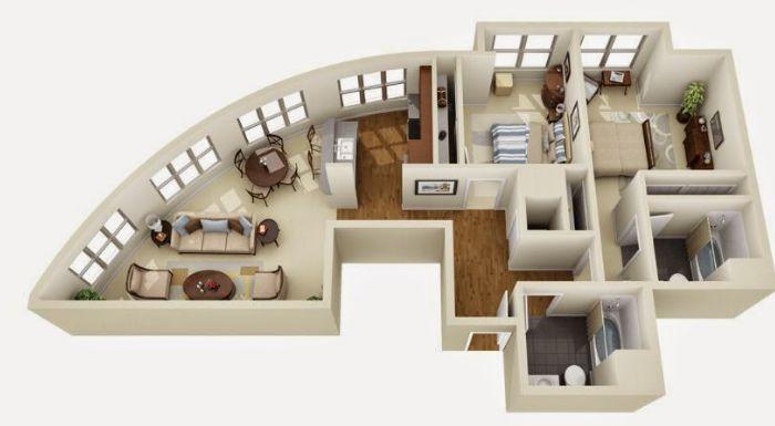 Aplikasi Android Desain Rumah 3D