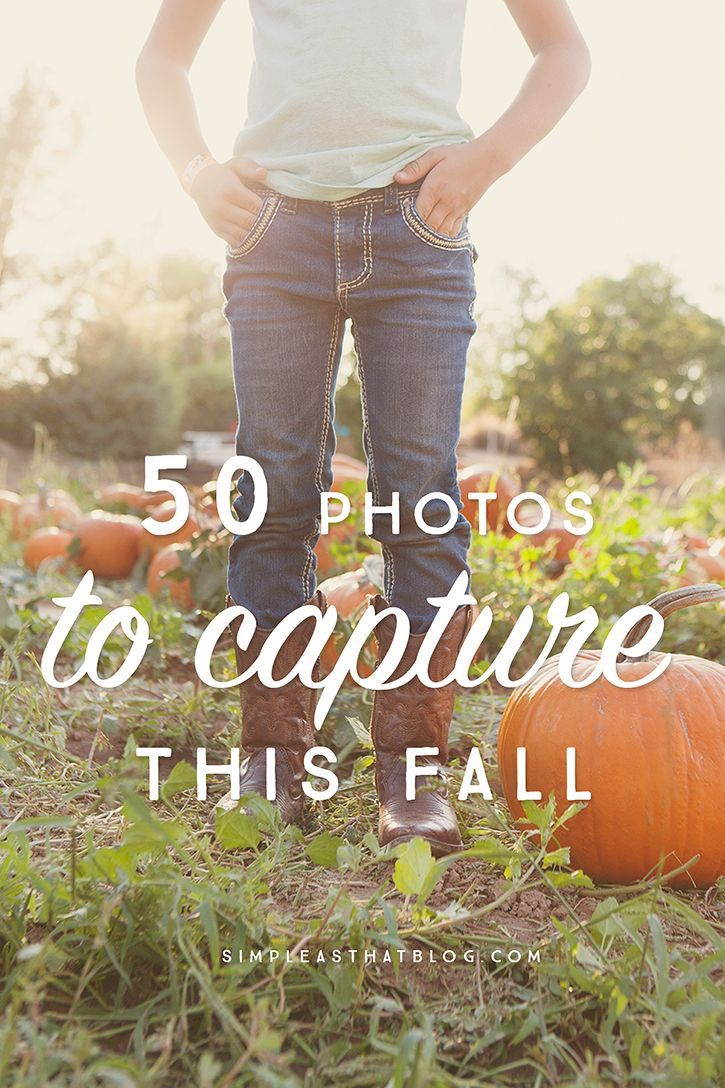 50 photo ideas and photography prompts to help you capture the beauty of Fall