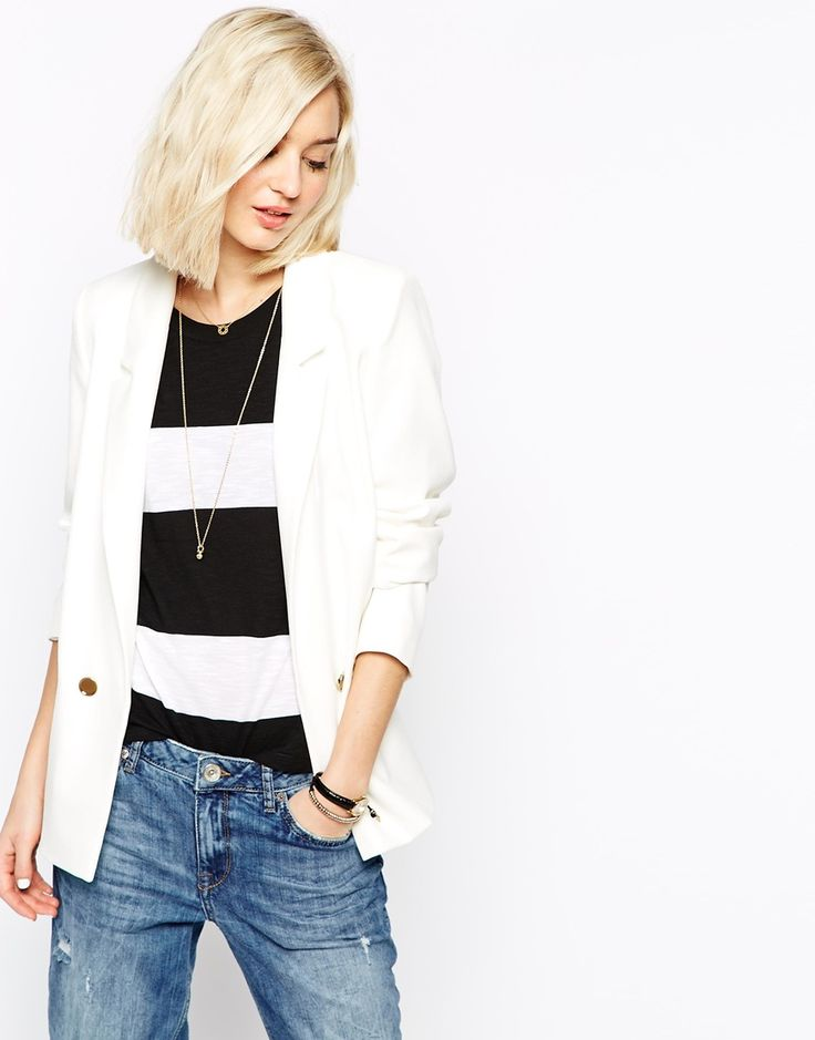 River Island Cream Blazer