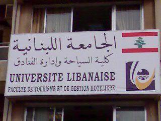 I studied Hospitality Management at the Lebanese University