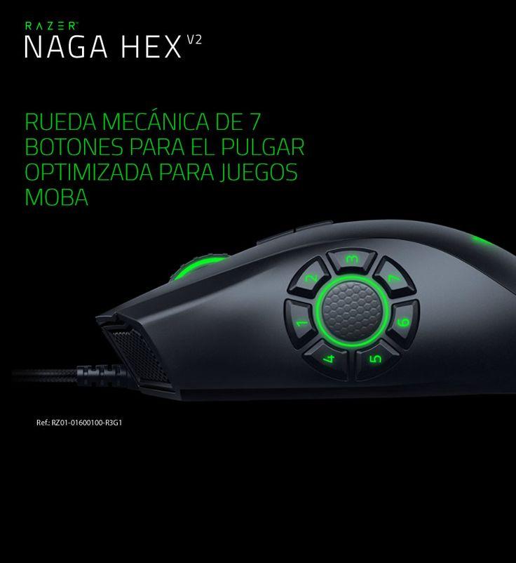 Gaming, Razer Naga Hex, #ComputerCityBcn