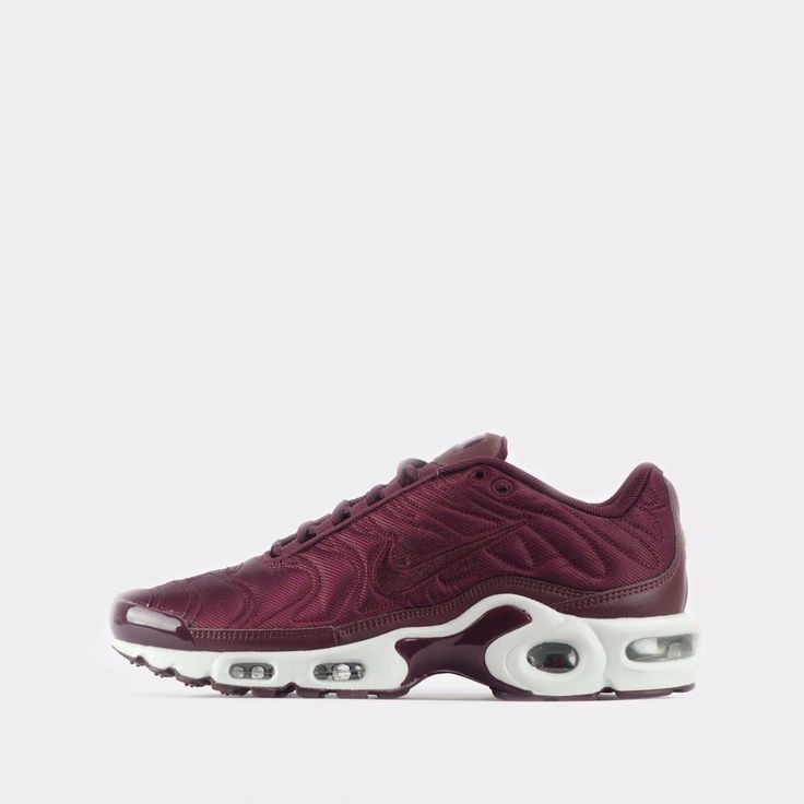 Nike Air Max Plus SE TN Tuned Quilted Womens Shoes in Mahogany #Nike #CasualShoesTrainers