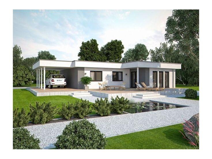 life 110 l flachdach einfamilienhaus von bau mein haus. Black Bedroom Furniture Sets. Home Design Ideas