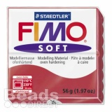 Staedtler Fimo Soft Polymer Clay Cherry Red 56g (1.97oz) £1.64