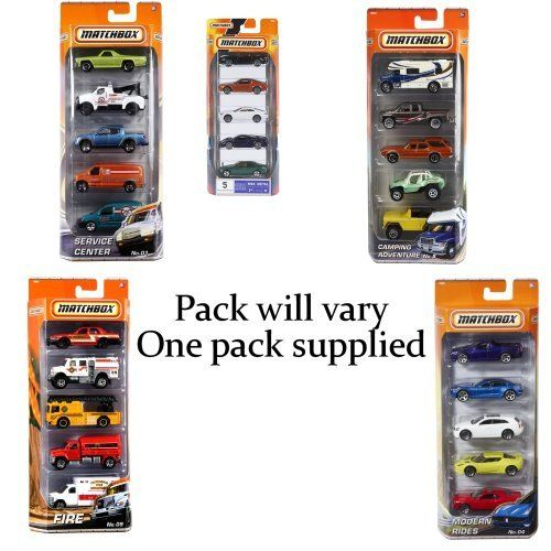 Matchbox 5 Vehicle pack