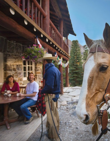 Een lodge in de Canadese Rockies. Ga je mee?