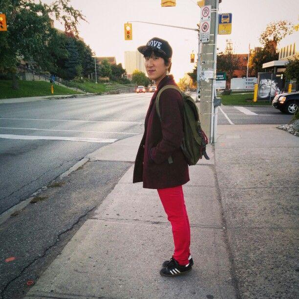 Pink pants #tomboy