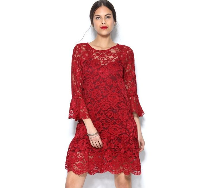 Krajkové šaty s volány | modino.cz #ModinoCZ #modino_cz #modino_style #style #fashion #dress