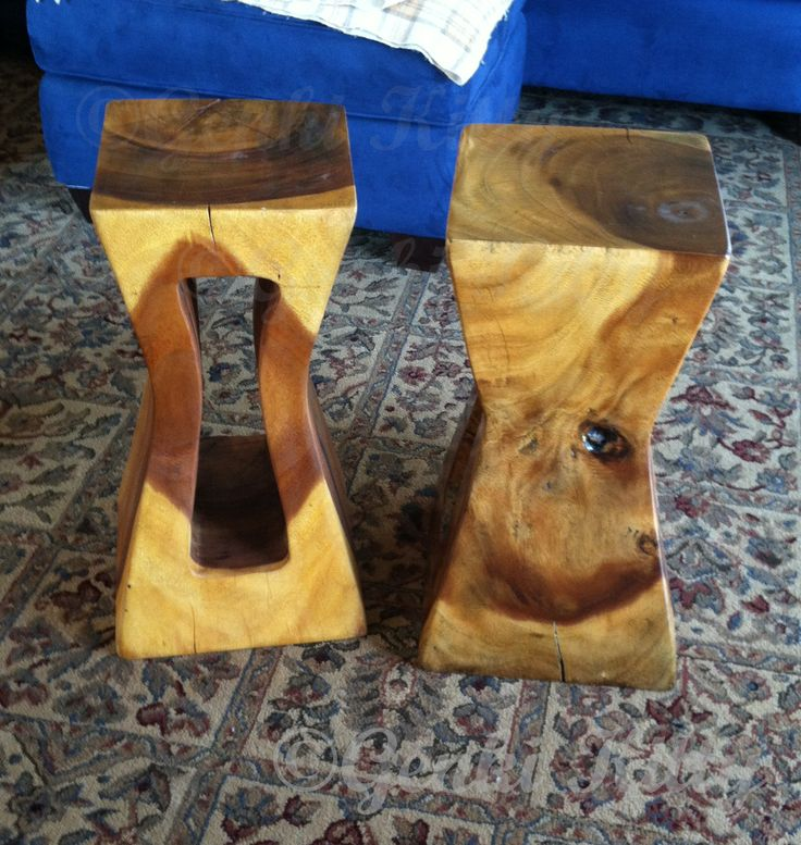 Thai Monkey Pod Wood stands