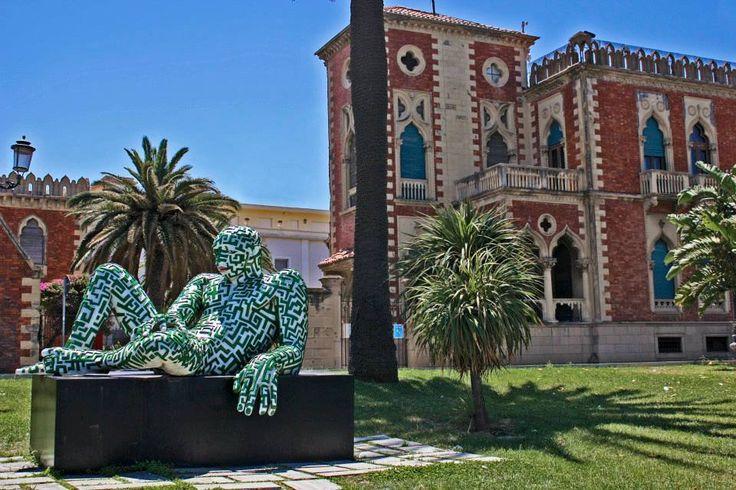 535  Statua Rabarama e Villa Zerbi- Via Marina-Reggio Calabria - Calabria - Foto Rossella Romeo