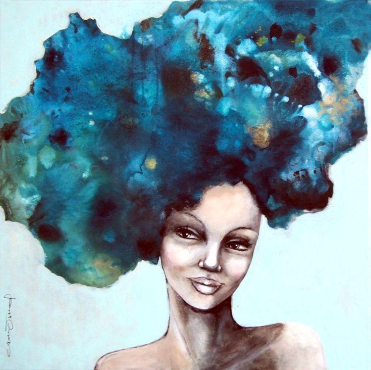 Blue and golden by Malin Östlund