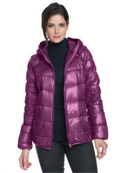 Plus Size Short Puffer Coat