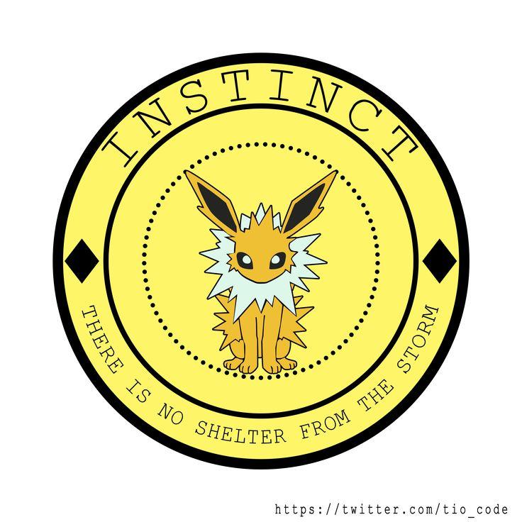 <3 Best eevee evolution :D  #TeamInstinct, #Jolteon, #Pokemon, #PokemonGO #eevee