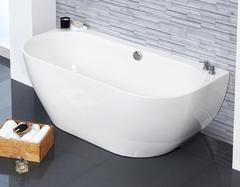 Loche Back to Wall Bath | Freestanding Baths - Waters Baths