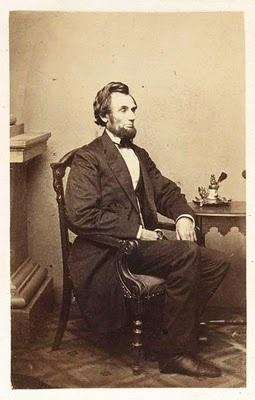 Abraham Lincoln Photographer Alexander Gardner Albumen silver print, 1861