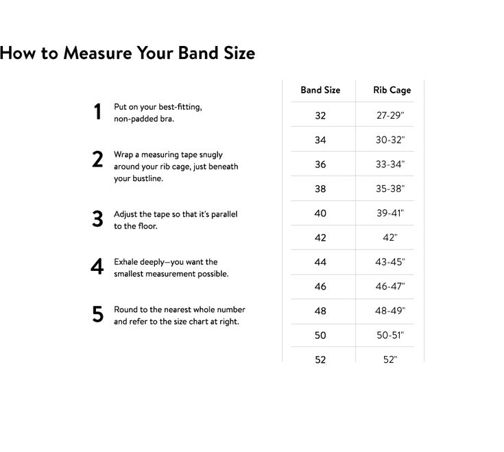 How to Measure Bra Size: Bra Fitting Guide | Nordstrom