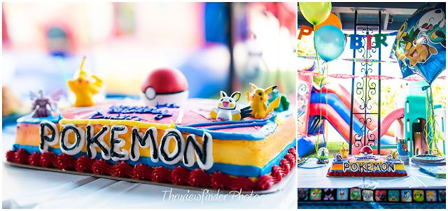 Pokemon themed birthday cake  Photographed by www.thruviewfinder.com Thruviewfinder Photography