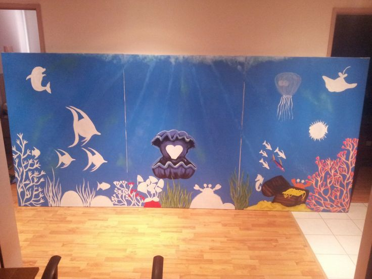This is part 2 of the progress for my current commission requested by Monash Hospital (Clayton Melbourne) for an underwater heart wonderland.