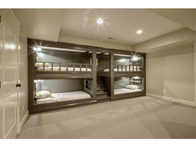 20 Best Basement Remodel Ideas Trends Of 2018 Bunk Bed Rooms