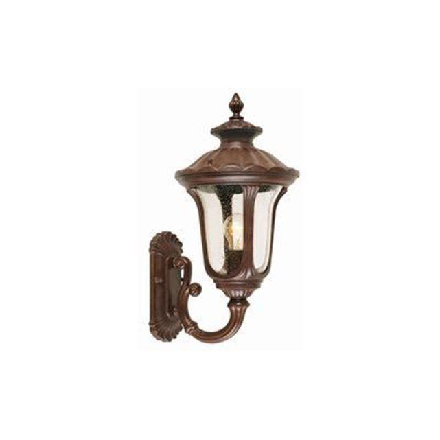 Applique Murale montante Chicago H 47cm 1x100W Bronze rouillé - ELSTEAD LIGHTING - cc1s ELSTEAD LIGHTING : prix, avis & notation, livraison.  Cet article (Applique Murale & Spot Extérieur ) de la marque Elstead Lighting de référence cc1s est un produit facilement installable et bénéficiant d'un excellent rapport qualité prix. - Bronze ryesllé - 1x100W - E27 - LxLxHxD : 0x235mmx470mmx0 - Source Lumineus...