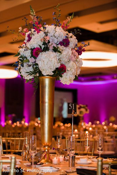 Magnificent Indian Wedding Floral Centerpiece