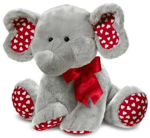 valentines stuffed animals - Valentines Animals