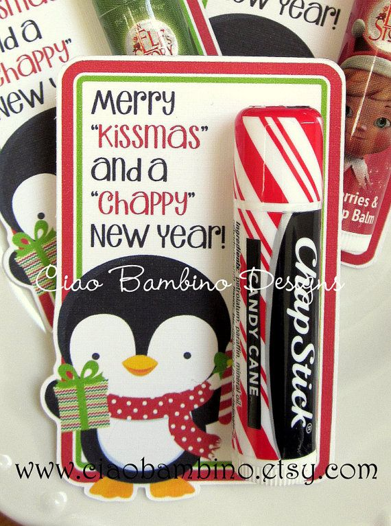 Merry Kissmas and a Chappy New Year Penguin Tags / by ciaobambino