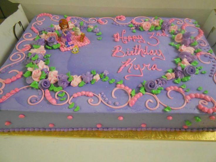 Birthday Cake Designs For Sheet Cake : Best ideas about Selah s Birthday, Girls Birthday Cakes ...