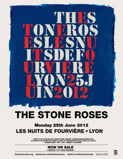 #stone roses   #france  love to go bit of a francophile   #the stone roses
