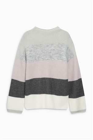 Buy Grey Funnel Neck Sweater from the Next UK online shop