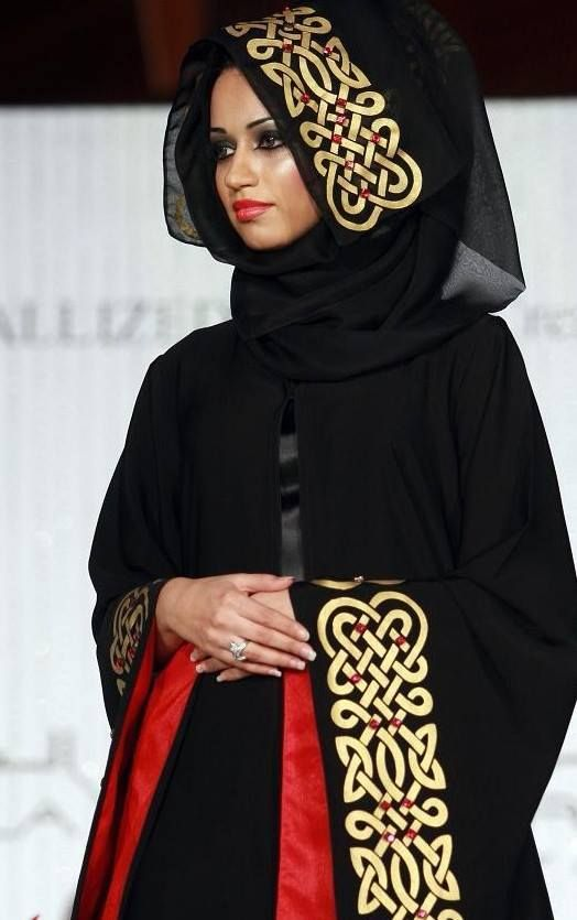 Latest Dubai Designer Abaya Gowns Designs Collection 2015-2016 (6)