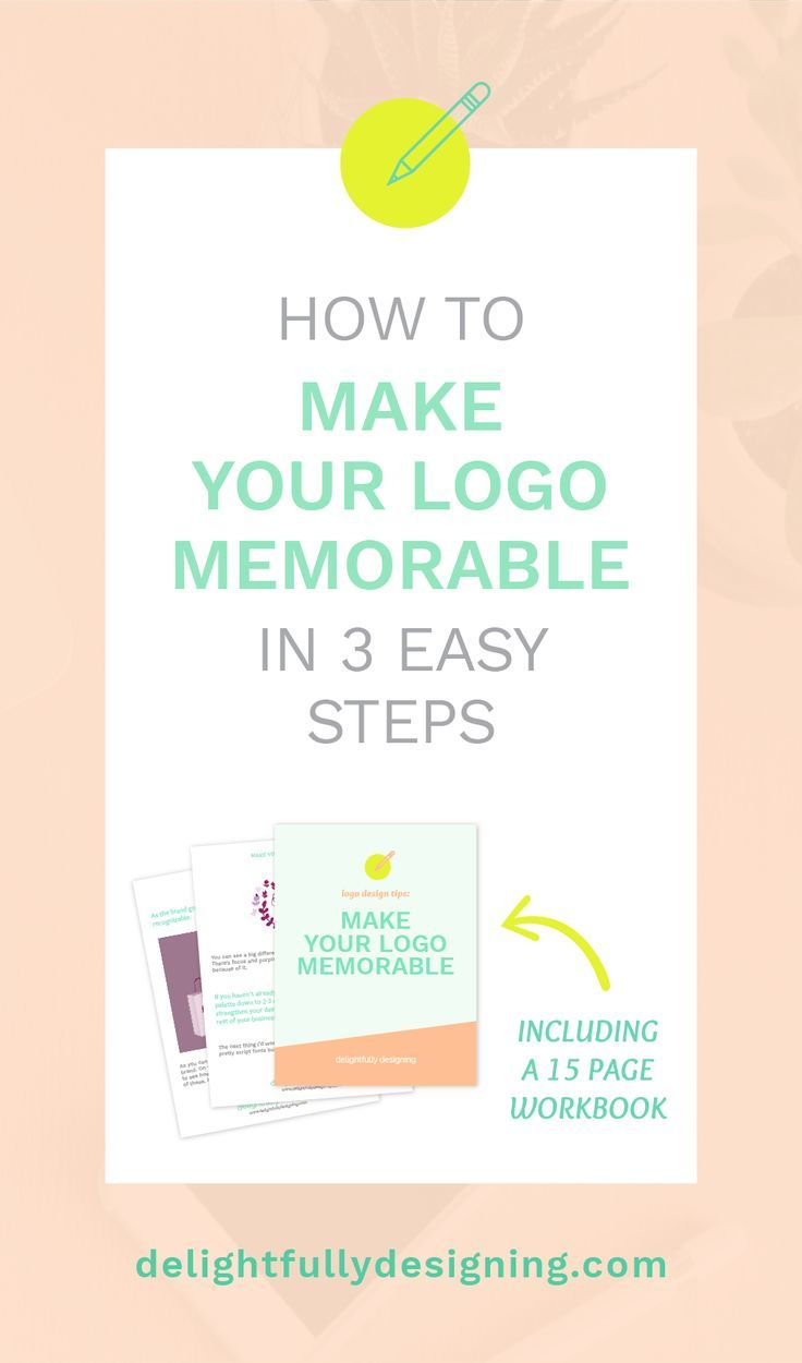 Learn 3 Easy Steps to make your LOGO memorable | Delightfully Designing