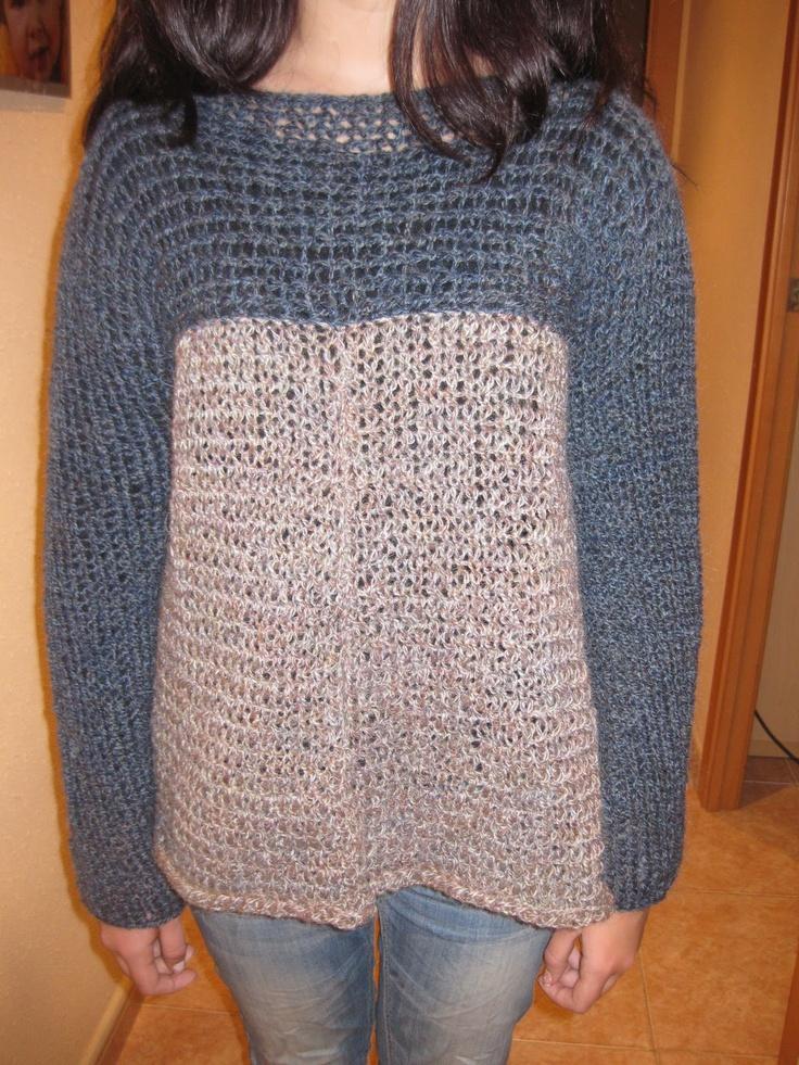 CREACIONES SUSANA: Jersey hecho con telar circular