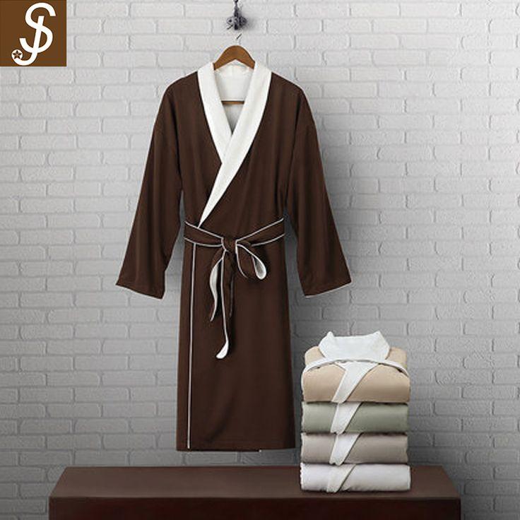 S&J 5 stars hotel custom high quality unisex hotel 100 cotton bathrobe with OEKO-TEX