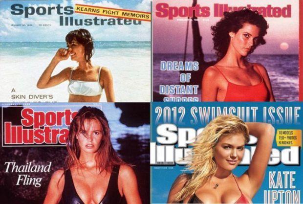 Sport Ilustrated, 50 anni di bellezza in copertina