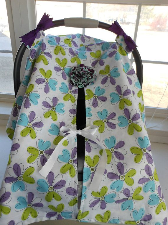 Infant Car Seat canopy cover Cuddler  READY by cocobellasboutique, $45.00