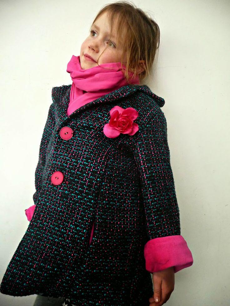 Jackie jas  patroon bij http://iene-miene.blogspot.be