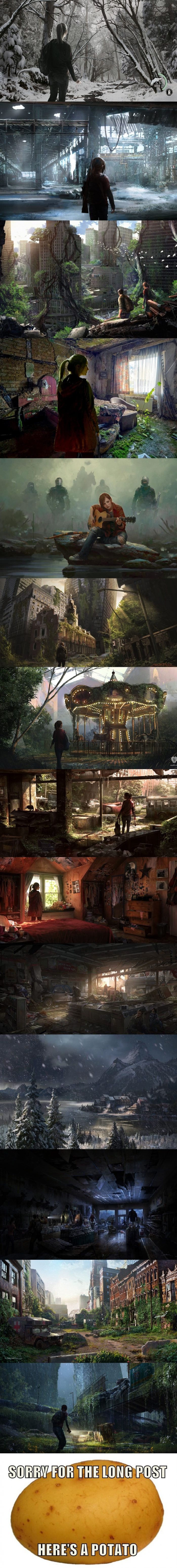 The Last of Us fan art - 9GAG