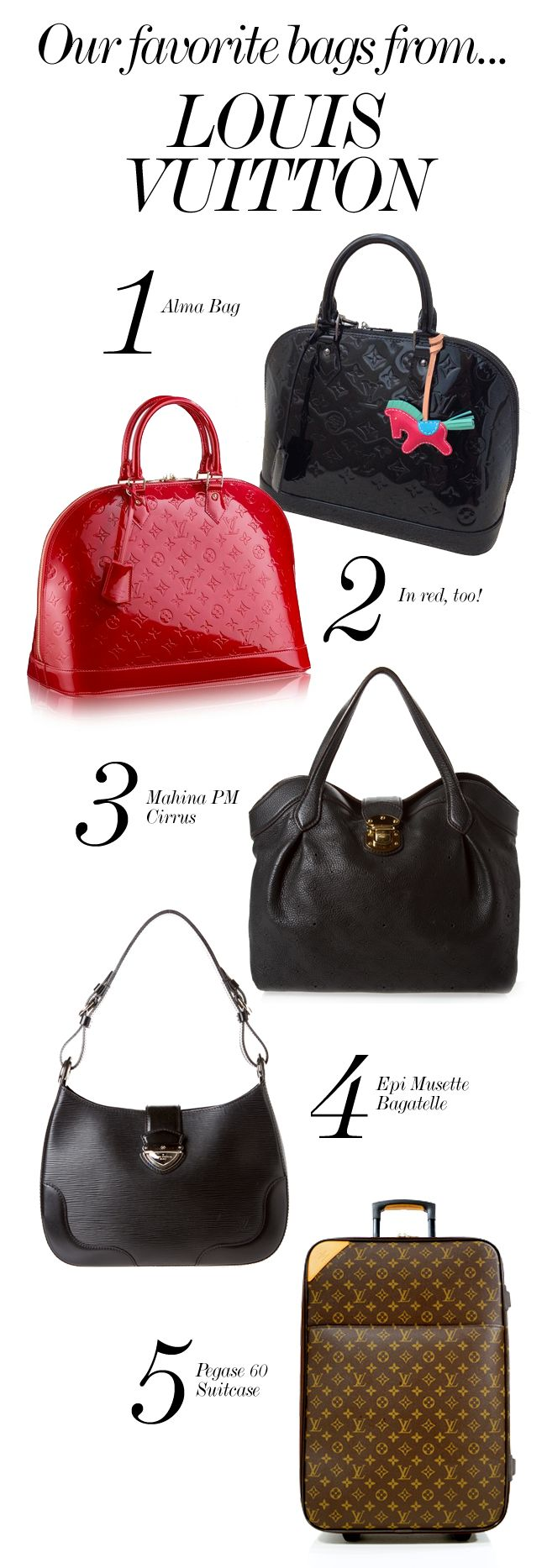 LOUIS VUITTON // Our Favorite Bags