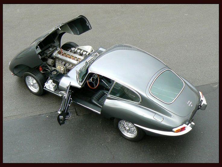 Jaguar E-Type Coupe 1961-67