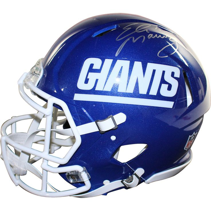 Eli Manning Signed New York Giants Color Rush Authentic Helmet
