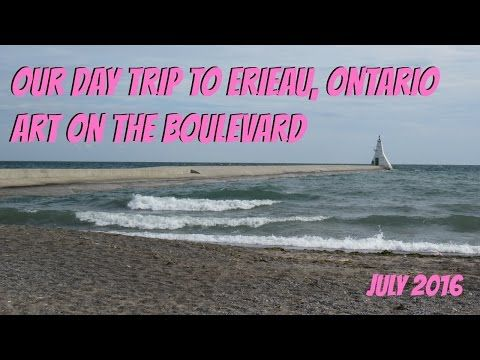 Highlights From Our Trip To Erieau ~ A Montage ~ Art On The Boulevard - YouTube