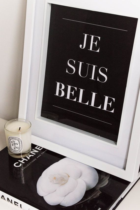 French Quote - i am beautiful. Beautiful prints!!!