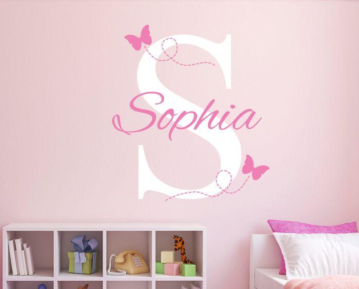 Good Personalisierte Namen Wall Decal Kinderzimmer Wandtattoo