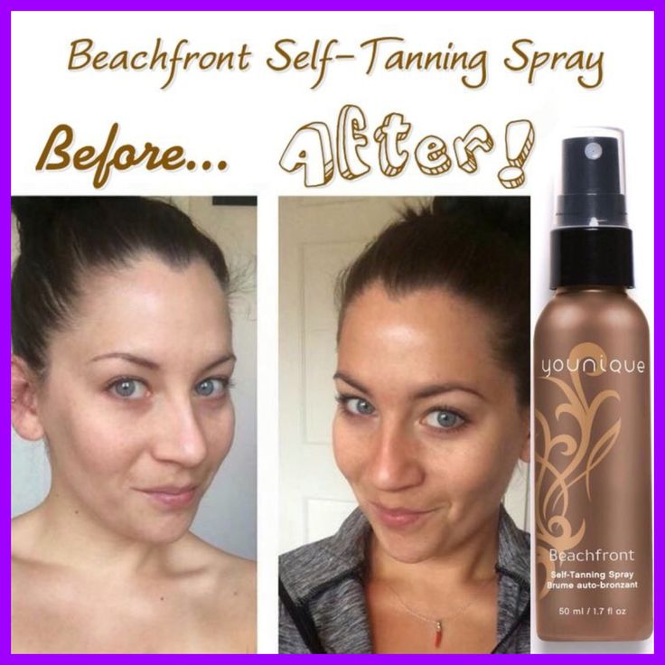 Beachfront Self-Tanning Spray #Results #Younique #ClickImageToShop #Questions…