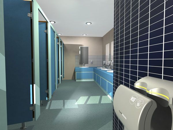 Volante washroom