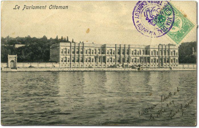 Ottoman Parliament. AYA TRIADA CADIKEUY