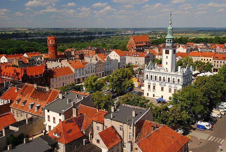 The old town of Chelmno, Poland  source Mikolaj Kawa